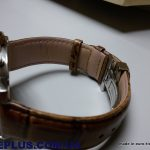 коричневый ремешок для часов с клипсой
